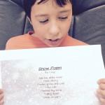 Snow poem