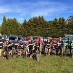 Well done mountain bikers:)