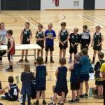 Y6 winning basketball CD Grade team