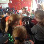 Corey and Ajax's visit to Rapaura School
