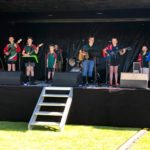 School band plays at Garden Marlborough Fete